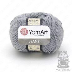 Пряжа YarnArt Jeans, цвет № 46 (Серый)