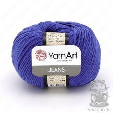 Пряжа Jeans YarnArt, цвет № 47 (Темно-голубой)