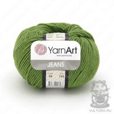 Пряжа Jeans YarnArt, цвет № 69 (Зелёный)