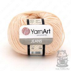 Пряжа Jeans YarnArt, цвет № 73 (Тёпло-бежевый)