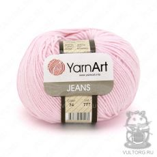 Пряжа Jeans YarnArt, цвет № 74 (Светло-розовый)