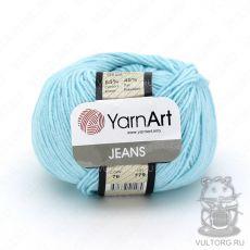 Пряжа Jeans YarnArt, цвет № 76 (Светло-голубой)