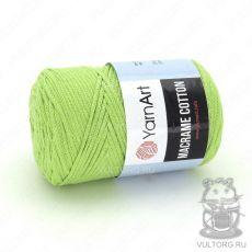 Пряжа Macrame Cotton YarnArt, цвет № 755 (Салатовый)