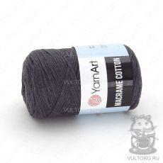 Пряжа YarnArt Macrame Cotton, цвет № 758 (Темно-серый)