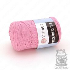 Пряжа Macrame Cotton YarnArt, цвет № 762 (Розовый)