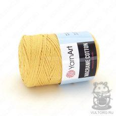 Пряжа Macrame Cotton YarnArt, цвет № 764 (Желтый)