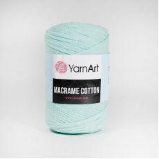 Пряжа YarnArt Macrame Cotton, цвет № 775 (Мятный)