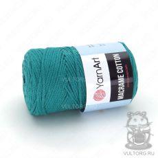 Пряжа Macrame Cotton YarnArt, цвет № 783 (Бирюза)