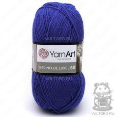 Пряжа Merino De Luxe 50 YarnArt, цвет № 152 (Василёк)