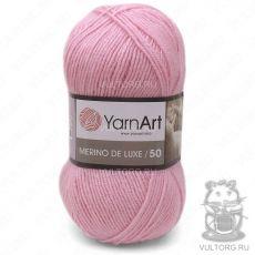 Пряжа Merino De Luxe 50 YarnArt, цвет № 217 (Светло-розовый)