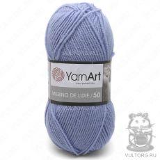 Пряжа Merino De Luxe 50 YarnArt, цвет № 3042 (Светло-голубой)