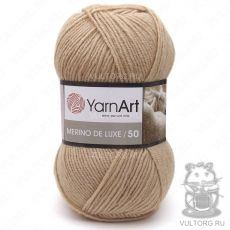 Пряжа Merino De Luxe 50 YarnArt, цвет № 511 (Светло-бежевый)
