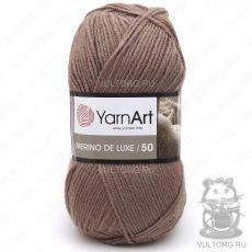 Пряжа Merino De Luxe 50 YarnArt, цвет № 514 (Темно-бежевый)