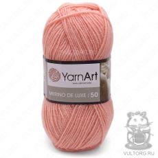 Пряжа Merino De Luxe 50 YarnArt, цвет № 565 (Персик)