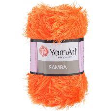Пряжа Samba YarnArt, цвет № 07 (Оранжевый)