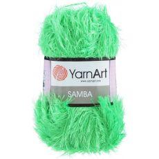 Пряжа Samba YarnArt, цвет № 09 (Трава)