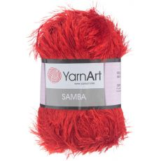 Пряжа YarnArt Samba, цвет № 156 (Красный)