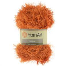 Пряжа Samba YarnArt, цвет № 2024 (Оранжевый)