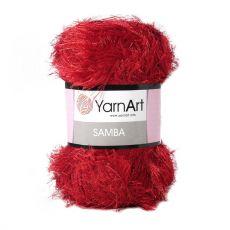 Пряжа YarnArt Samba, цвет № 2026 (Красный)