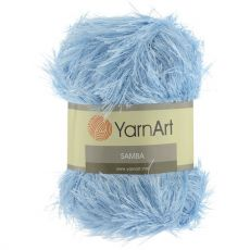 Пряжа YarnArt Samba, цвет № 2029 (Голубой)