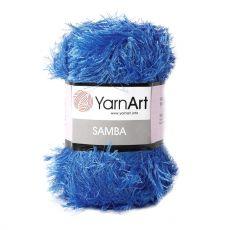 Пряжа YarnArt Samba, цвет № 40 (Темно-голубой)