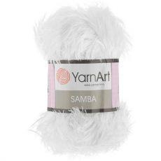 Пряжа Samba YarnArt, цвет № 01 (Белый)