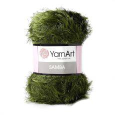 Пряжа YarnArt Samba, цвет № 530 (Оливковый)