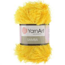 Пряжа YarnArt Samba, цвет № 5500 (Желтый)