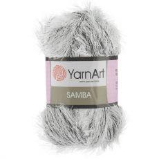 Пряжа Samba YarnArt, цвет № A64 (Белобурка)