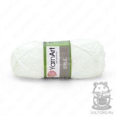 Пряжа Style YarnArt, цвет № 650 (Белый)