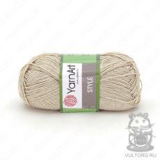 Пряжа Style YarnArt, цвет № 654 (Светло-бежевый)
