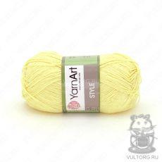 Пряжа Style YarnArt, цвет № 656 (Светло-жёлтый)