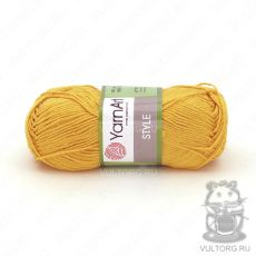 Пряжа Style YarnArt, цвет № 657 (Желток)