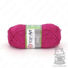Пряжа Style YarnArt, цвет № 661 (Малиновый)