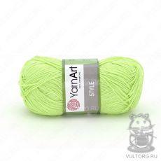 Пряжа Style YarnArt, цвет № 662 (Светло-салатовый)