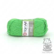 Пряжа YarnArt Style, цвет № 663 (Салатовый)