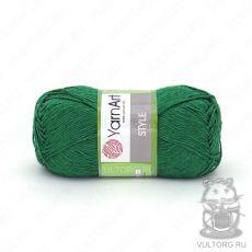 Пряжа Style YarnArt, цвет № 664 (Зелёный)