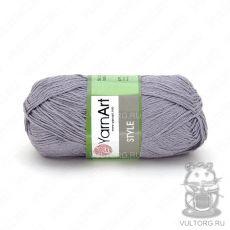 Пряжа Style YarnArt, цвет № 667 (Серый)