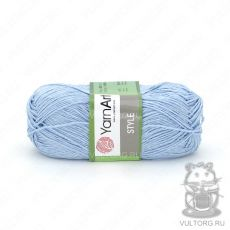 Пряжа Style YarnArt, цвет № 668 (Светло-голубой)