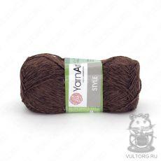 Пряжа Style YarnArt, цвет № 672 (Коричневый)