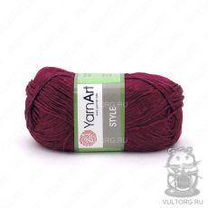 Пряжа YarnArt Style, цвет № 676 (Бордовый)