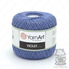 Пряжа YarnArt Violet, цвет № 5351 (Голубой)