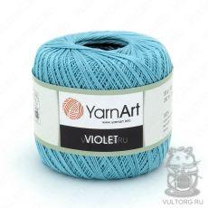 Пряжа YarnArt Violet, цвет № 5353 (Голубая бирюза)