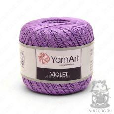 Пряжа YarnArt Violet, цвет № 6309 (Светло-фиолетовый)