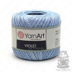 Пряжа YarnArt Violet, цвет № 4917 (Голубой)
