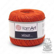 Пряжа YarnArt Violet, цвет № 5535 (Оранжевый)