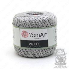 Пряжа YarnArt Violet, цвет № 4920 (Серебро)