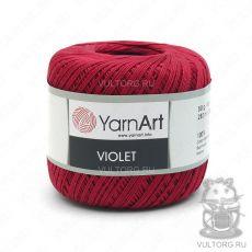 Пряжа YarnArt Violet, цвет № 5020 (Темно-красный)