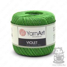 Пряжа Violet YarnArt, цвет № 6332 (Зелёный)